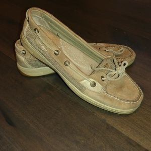 Sperry ⛵ Boat Shoes Size 9 Tan